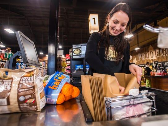 Olivia Coates started with Jericho Market when it opened