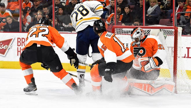 Luke Schenn, left, still has an uncertain future as Michael Del Zotto returns for two more years.