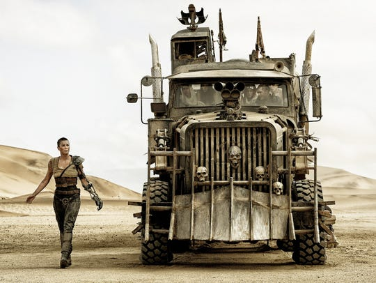 Imperator Furiosa (Charlize Theron) and her big-wheeled