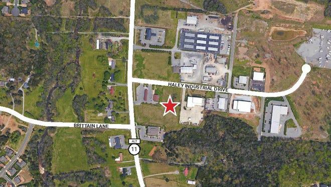 Location of Nolensville Business Center