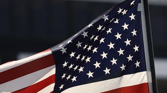 Most of the American flags sold in this country are made in China.