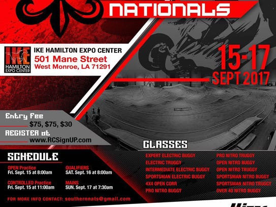 2017 Southern Nationals Indoor Off-Road Race