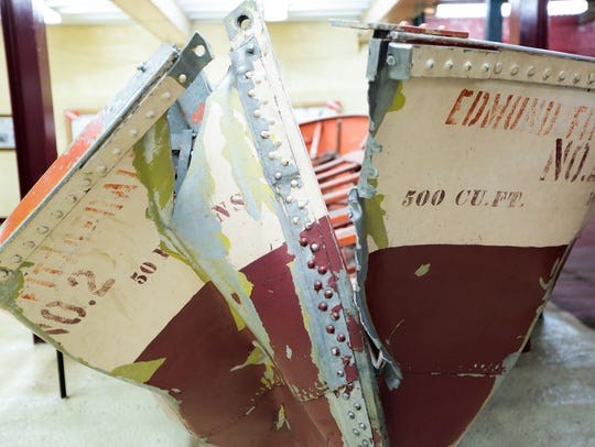 A life boat from the S.S. Edmund Fitzgerald that sunk