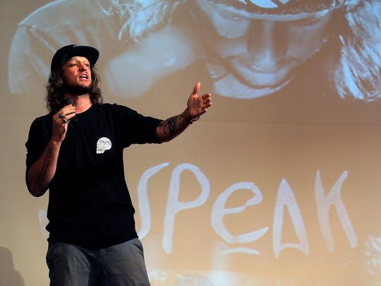 Mike Smith, a youth speaker who is the founder and