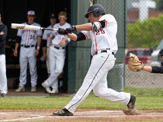 Cameron Tullar has been a leader at the plate and on