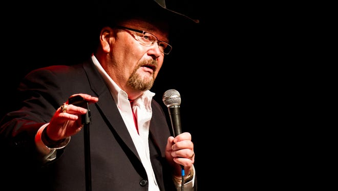 Professional wrestling broadcaster and WWE Hall of Fame member Jim Ross will perform a one-man show at Zanie's on Nov. 8.