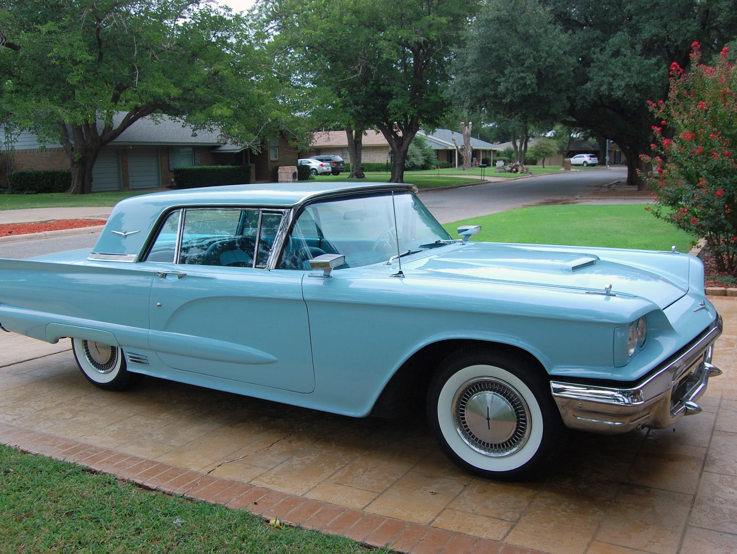 VERNON – Reg Baldwin's 1960 Thunderbird got a new coat
