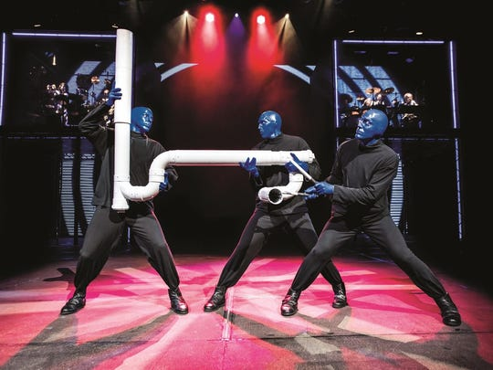 Blue Man Group uses everyday items to create its percussive sound, and one of the most popular is PVC pipe.