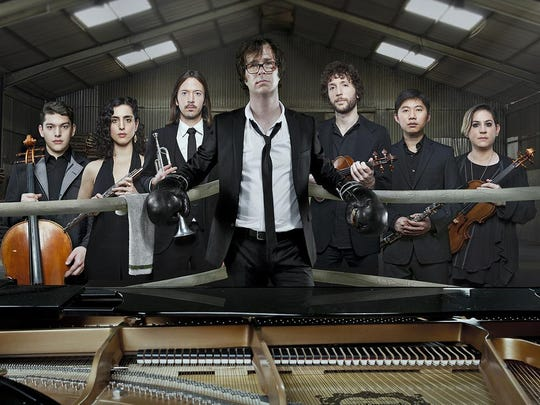 Ben Folds, center, plays Sept. 2 at Arts, Beats & Eats.