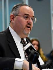 Helen Thackston Charter School's attorney Brian Leinhauser