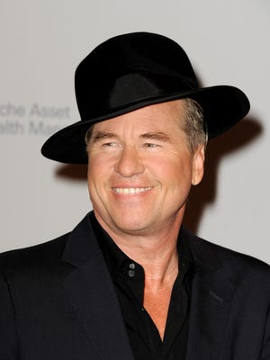 "Actor Val Kilmer arrives at 2013 benefit in California. The actor will present a film of his one man show ""Citizen Twain"" at Tarrytown Music Hall, Nov. 3."