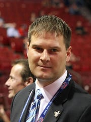 Ex-Amerk star Jason Botterill was named the Buffalo Sabres' new general manager on May 11, 2017.