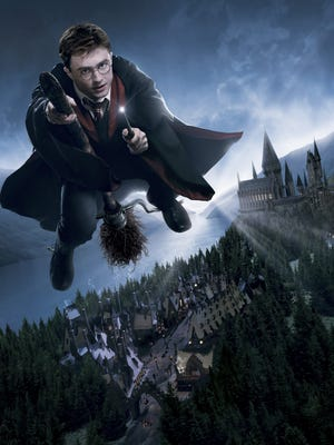 "Artist illustration provided by Universal Studios, for the ride ""The Wizarding World of Harry Potter"""