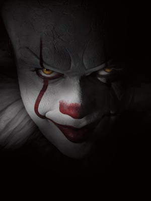Pennywise (Bill Skarsgård) haunts the town of Derry in the new adaptation of Stephen King's 'It.'