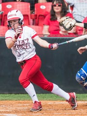UL third baseman Kara Gremillion is known for her consistent hustle no matter what the score of the game is.