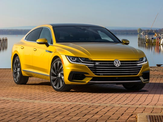 Volkswagen has made an even hotter looking version of its Arteon four-door coupe