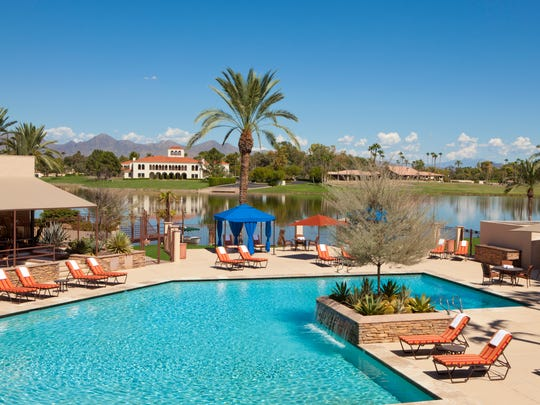 The pool area at the McCormick Scottsdale resort.