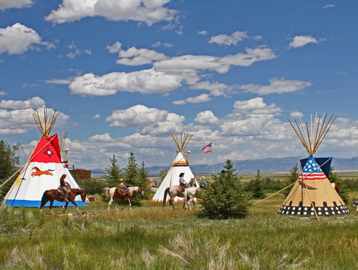 Mustang Monument, an eco-resort near Wells, Nev., debuted in June. Lodging options  include luxury, hand-painted  tepees. The ranch has access to 900 square miles.