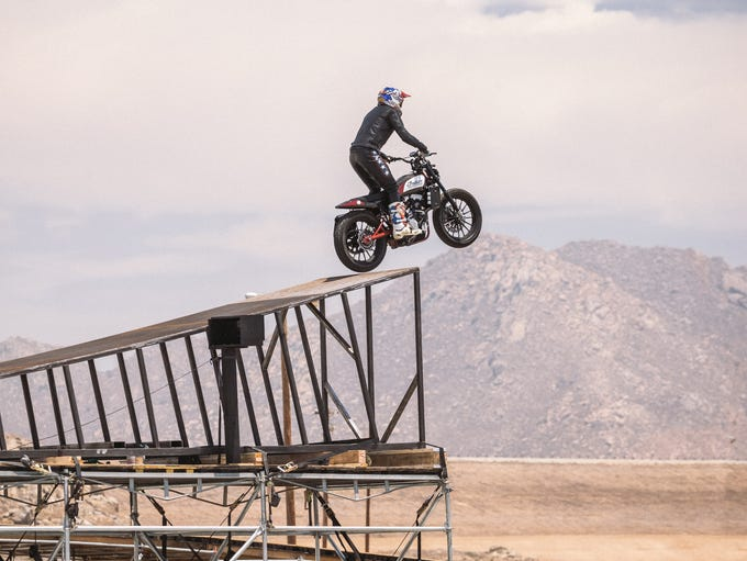 Motorsports superstar Travis Pastrana plans to recreate
