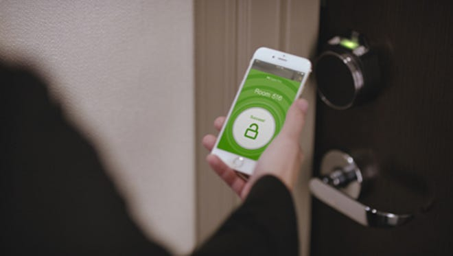 "Hilton is introducing a ""Connected Room"" with mobile capabilities."