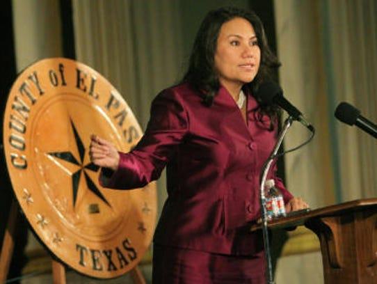 County Judge Veronica Escobar will speak Wednesday