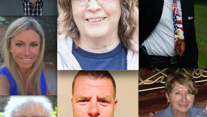 Clockwise, from top left: Matthew Counts, Lois Kanniainen,