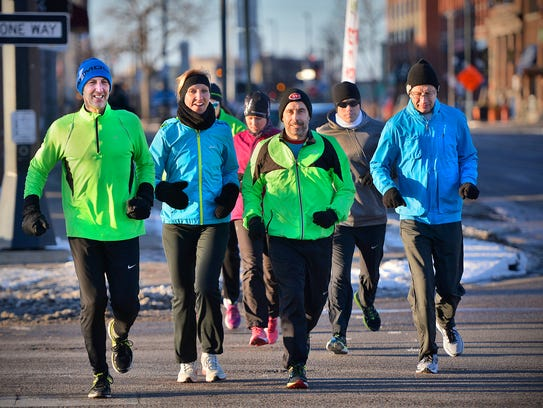 St. Cloud River Runners members including from left: