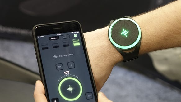 The Soundbrenner Pulse is a metronome you wear on your