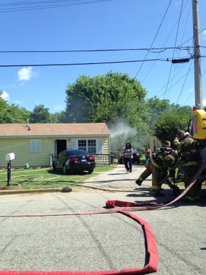 The Jackson Fire Department put out a house fire on Idlewild Street in East Jackson this morning.