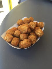 At Steaks Unlimited in Seaside Heights, the signature cheese balls are added to a cheesesteak for a Seaside Tony.