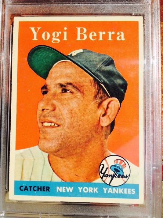 Yogi Berra card