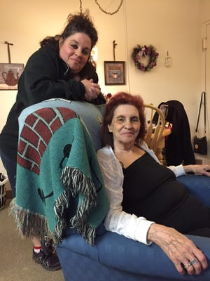 Mother and daughter, Gina and Jean Sgrizzi, have been evicted from their apartment of 18 years for being too loud.