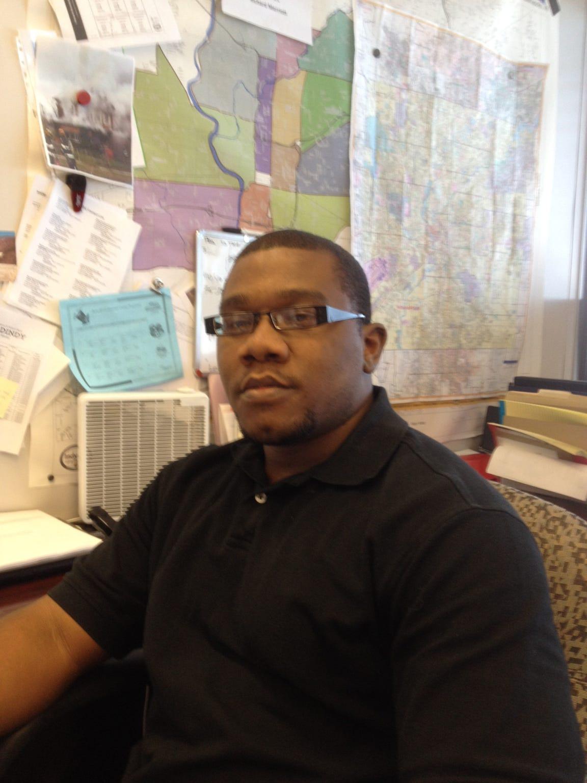 Former city Land Bank administrator Reggie Walton was