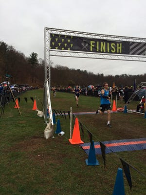 Donny Glavin of McQuaid finished fifth and qualified for the national championship.