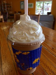 Yes, Sunrise Bread Company is known for its  bakery offerings, but it's coffee drinks, like this Granita, also have a following.