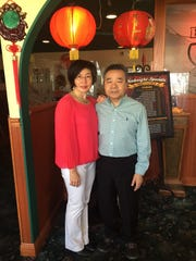 Tammy Ching and her husband, Napoleon Ching, at  House of Ing.