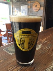 The Diffie Milk Stout from Union Brewing Company, located in Carmel.