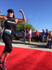 Coming down that red carpet and across the finish line at the Cocoa Beach Triathlon made me feel stronger than I ever have before.