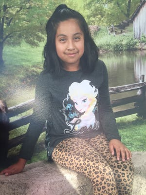 Diana Alvarez, 9-year-old girl from San Carlos Park.