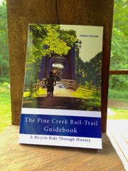 """""""The Pine Creek Rail-Trail Guidebook"""" by Linda Stager offers incredible historical insight to the Pine Creek Valley as well as practical advice for biking and utilizing the trail."""