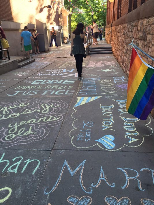 2016 June 13 Orlando Vigil 1