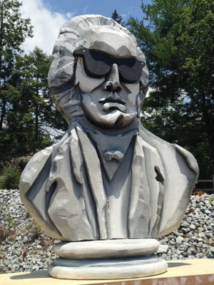 Beethoven in sunglasses looks over Brevard as the Brevard Music Center begins its 80th summer season.
