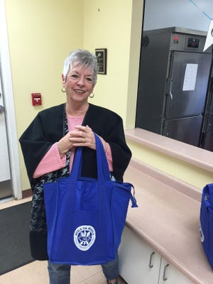 Greer City Councilwoman Judy Albert is a regular Meals on Wheels volunteer driver and also participated in the March for Meals campaign.