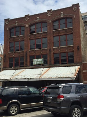 A former Historic Third Ward produce warehouse will be converted into offices and a restaurant.