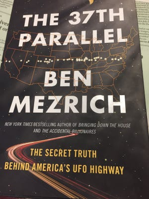 Ben Mezrich makes a compelling case for UFOs in new book.