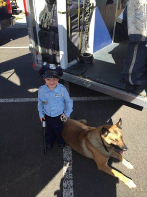 K-9 Max passed away Wednesday night.