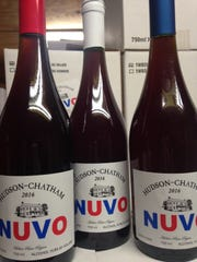 Hudson-Chatham Winery's Nuvo wine.