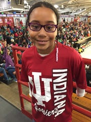 "Hope Woods, a third-grader in Warren Township, said the rally for reading was ""the best thing that's happened to her."" She wants to attend Indiana University for college, but said she also wants to join a band."