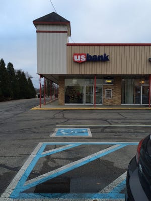 The US Bank branch on National Road West in Richmond was robbed Monday afternoon.
