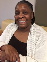 Reita Baxter, a staff member at Dove House, said the organization saved her life.